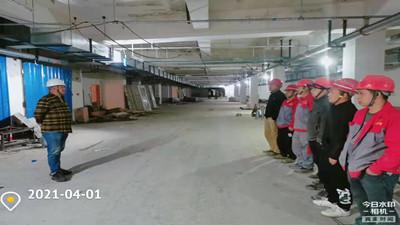 """2021年""""牛""""转乾坤的第五份项目进度简报--四川国晋消防"""