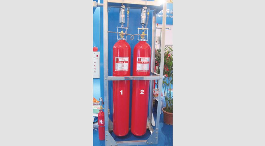 高压二氧化碳(CO2)自动灭火系统