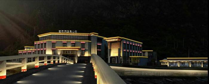 理县古尔沟温泉小镇-700