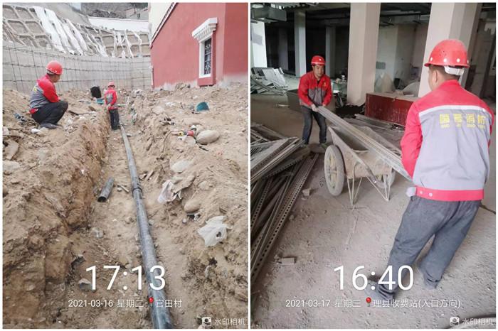 21年3月16日 理县藏语佛学院-700